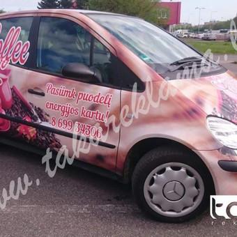 Reklamos Gamyba, Automobilių apklijavimas, Fototapetai / Taka Reklama / Darbų pavyzdys ID 220873