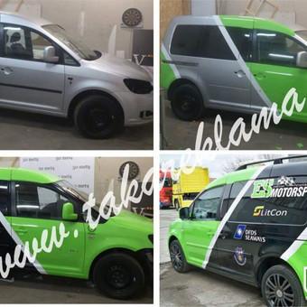 Reklamos Gamyba, Automobilių apklijavimas, Fototapetai / Taka Reklama / Darbų pavyzdys ID 220881