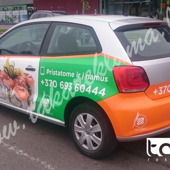 Reklamos Gamyba, Automobilių apklijavimas, Fototapetai / Taka Reklama / Darbų pavyzdys ID 221181