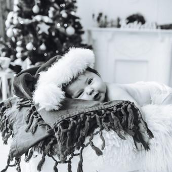 Kūdikio fotosesija foto studijoje