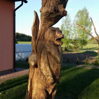 Aukstis 2m50cm.sukurta pagal individualu uzsakima.medis azolas.