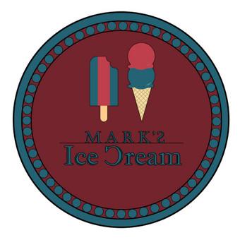 Kurtas logotipas ledainei.
