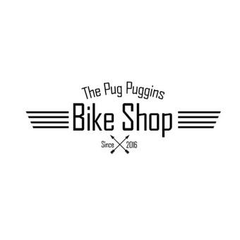 Kurtas logotipas dviračių dirbtuvėms.