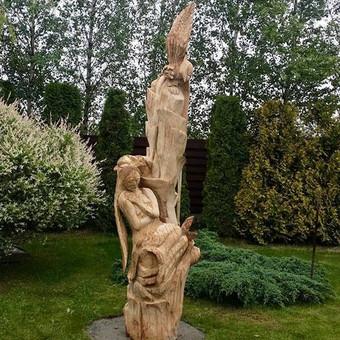 sia skulptura sukureme atvike i  uzsakovo namus per 4 dienas.