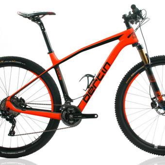 """""""Bertin"""" XC29 dviračio rėmo grafinis apipavidalinimas."""