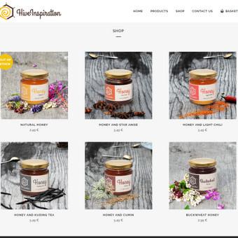 Internetinė medaus parduotuvė http://www.hiveinspiration.com/
