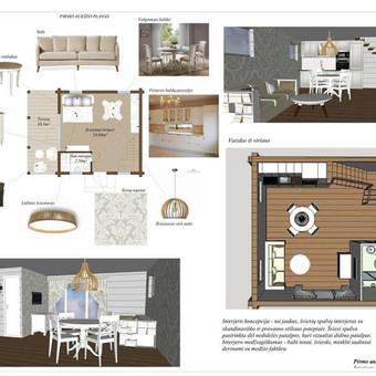 Net mažytis namelis gali būti jaukus, racionalus ir stilingas