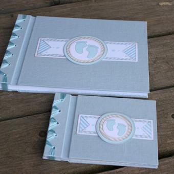 rinkinys krikštynoms: albumas ir linkėjimų knyga