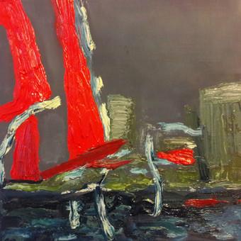 """20 x 20 Aliejus, drobė Parduodamas Šį paveikslą galite pamatyti ir įsigyti """"Parko galerijoje"""" Valančiaus g. 6, Kaunas"""