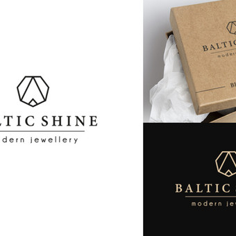 Baltic Shine logotipas - (daugiau darbų www.logobox.lt)
