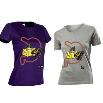 Marškinėlių dizaino kūrimas ir paruošims spaudai.