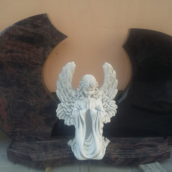 Paminklas dviejų dalių, skulptūra