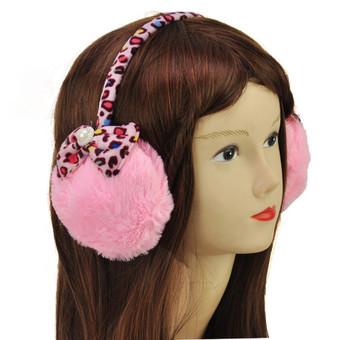 Kokybiškos šiltos ausinės mergaitėms
