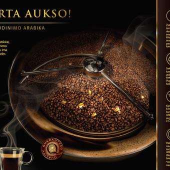 AROMA GOLD kampanijos LETO SKRUDINIMO ARABIKA idėjos ir jos įgyvendinimo bendraautorė, tekstų kūrėja.