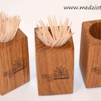 Įvarių medinių indų gamyba bei graviravimas