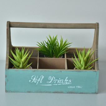 Įvairios medinės dėžutės gėrimams ir ne tik. Turime keletą variantų