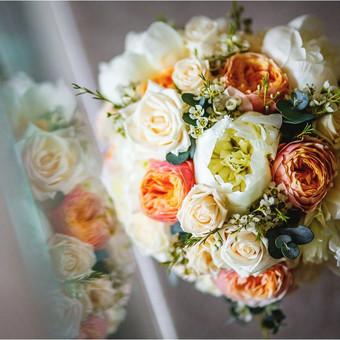Vestuvinis floristinis dekoravimas / Isdeco / Darbų pavyzdys ID 232009