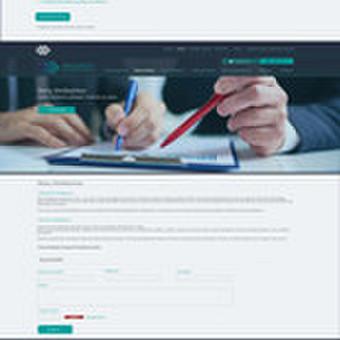 Internetinio puslapio dizainas Skolų Birža