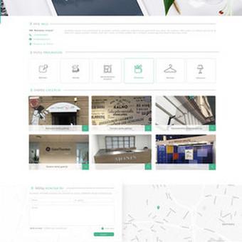 Internetinio puslapio dizainas AdAgency