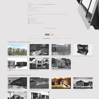 Internetinio puslapio dizainas Inokon