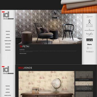 Internetinio puslapio dizainas IdeaDesign