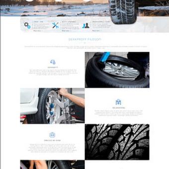 Internetinio puslapio dizainas Dekkproff