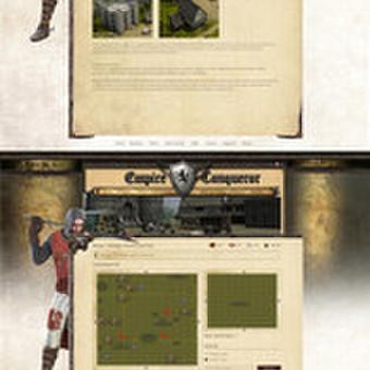 Internetinio puslapio dizainas EmpireConqueor
