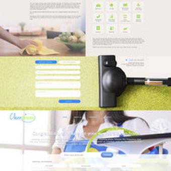 Internetinio puslapio dizainas CleanBreak