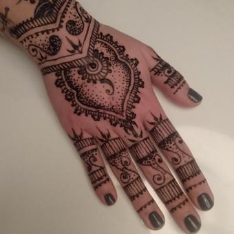 laikinos henna (chna) tatuiruotes / Ieva Jaru / Darbų pavyzdys ID 233147