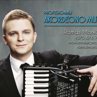Profesionali akordeono muzika / Romas Morkūnas / Darbų pavyzdys ID 233901