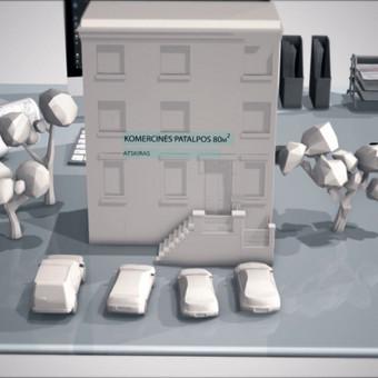 Video Animacija 2D, 3D / Gintaras Knystautas / Darbų pavyzdys ID 234325