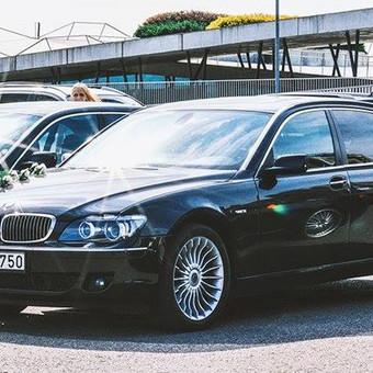 BMW 7 LONG E66 - pigesnis variantas prabangioms vestuvėms