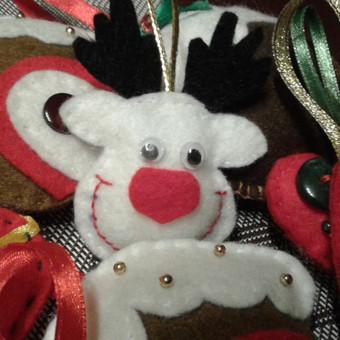 Kalėdų eglutės papuošimai