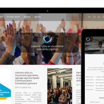 Reprezentacinė svetainė + vidinis intranetas (WWW.LRVS.LT)