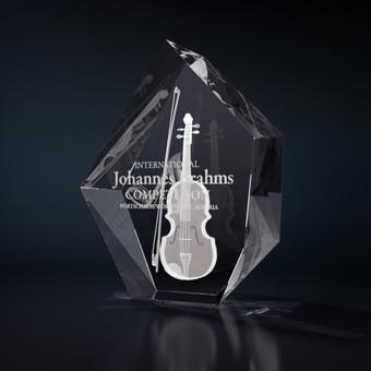 3D graviravimas stikle