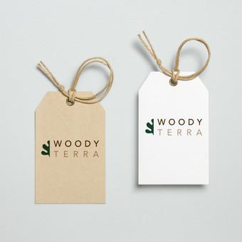 woodyterra logotipas