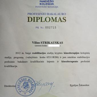 Masažo paslaugos Vilniuje / Vilius Strikauskas / Darbų pavyzdys ID 238933