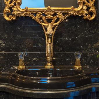 Klasikinio vonios kambario interjero dizainas