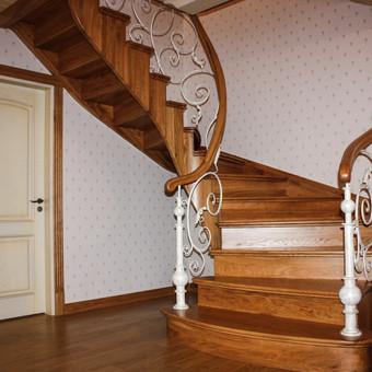 Laiptų gamyba ir projektavimas / UAB Wood Step / Darbų pavyzdys ID 239285
