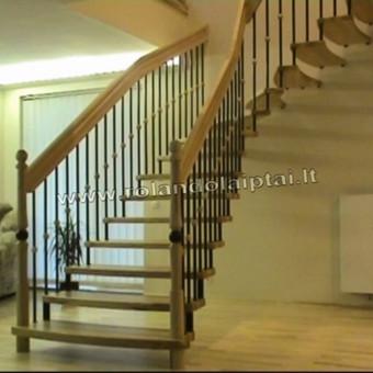 Laiptų gamyba ir projektavimas / UAB Wood Step / Darbų pavyzdys ID 239297