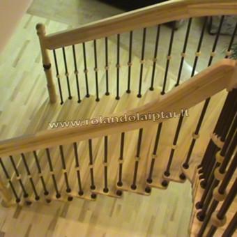 Laiptų gamyba ir projektavimas / UAB Wood Step / Darbų pavyzdys ID 239299