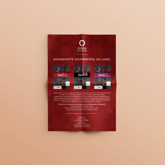 Kalėdinis skrajutė - B2B produktų pristatymas