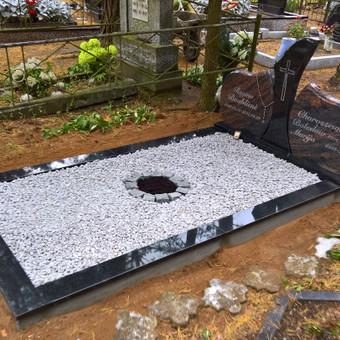 Vienvietės kapavietės įrengimas, rudaminoje 865688083
