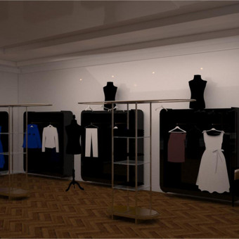 Parduotuvės interjero dizainas