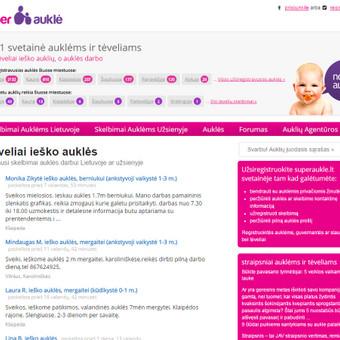 Interneto svetainių kūrimas Kaune / Tadas Dabulskis / Darbų pavyzdys ID 244157