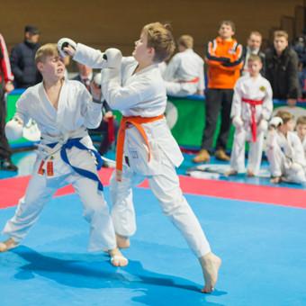 Renginio fotografija. Karate championship.