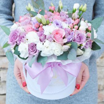 Floristas, gėlių salonas / Karolis Strazdas / Darbų pavyzdys ID 245183