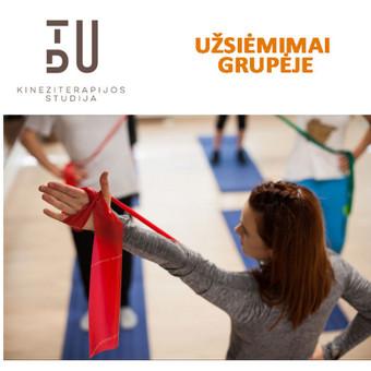 Vidutinio intensyvumo apie 60 min. trunkantys užsiėmimai grupėje iki 8 žmonių. Atliekami pratimai nugaros, sėdmenų bei kojos raumenų stiprinimui.