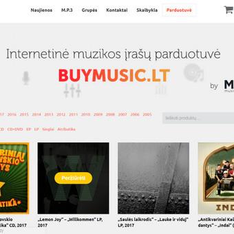 Internetinė muzikos įrašų parduotuvė: http://www.buymusic.lt/