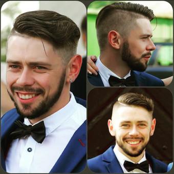 Vyriški kirpimai,barzdų modeliavimas,skutimas. / Loreta / Darbų pavyzdys ID 247995